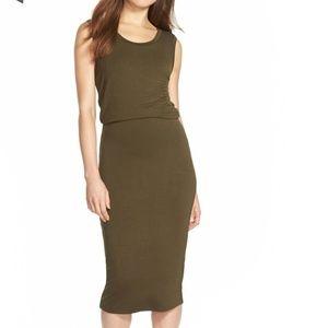 Leith Sleeveless Midi Dress - Sz XS